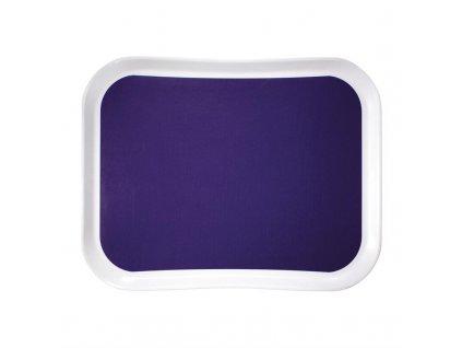 55744 cambro polyesterovy jidelni tac versa lite century fun v barve modrych hroznu 430mm