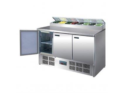 57556 polar chladici stul na pripravu salatu pizzy 390l