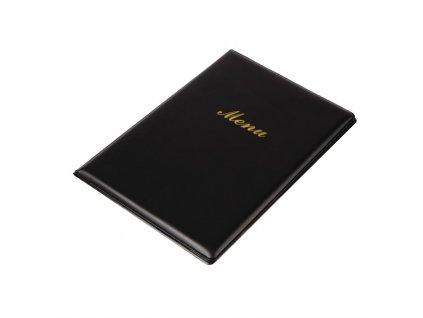 58393 olympia desky na menu z pvc a5 cerne