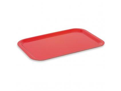 59227 roltex servirovaci tac melaminovy fast food cerveny 375 265mm