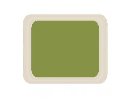59233 roltex servirovaci tac melaminovy cafeteria zeleny 420 320mm
