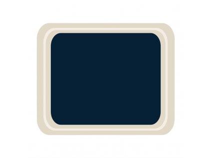 59239 roltex servirovaci tac melaminovy cafeteria modry 420 320mm