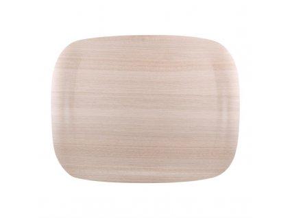 59353 roltex servirovaci tac wave v dekoru svetle drevo 460 360mm