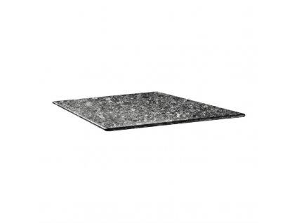 59503 topalit ctvercova stolova deska smartline cerna zula 800mm
