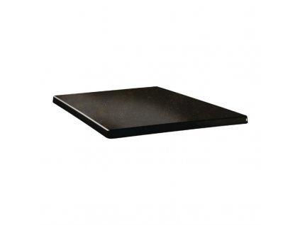 59587 topalit ctvercova stolova deska s klasickym tvarem odstin cyprus metal 700mm