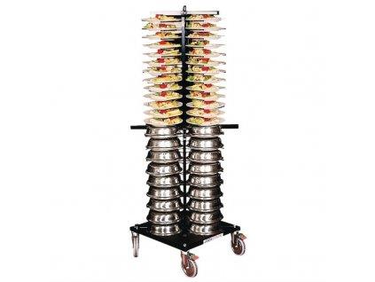 60679 vozik na talire vyrobeny systemem jackstack s kapacitou 88 taliru
