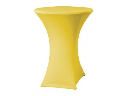 61735 samba elasticky potah na stul zluty d2