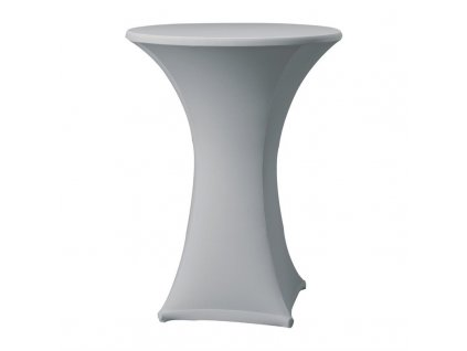 61756 samba elasticky potah na stul sedy d1