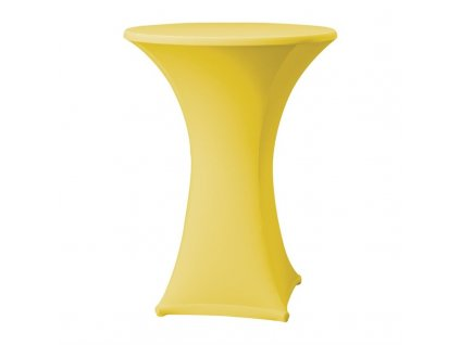 61768 samba elasticky potah na stul zluty d1