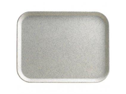 61873 cambro polyesterovy jidelni tac versa lite kropenate kourovy 460mm