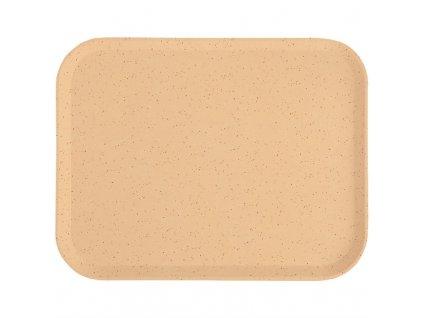 61882 cambro polyesterovy jidelni tac versa lite kropenate kavovy 430mm