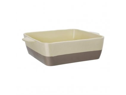 62356 olympia kremovy sedobezovy ctvercovy keramicky pekac velikost gn 1 2