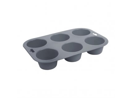 62629 vogue ohebna silikonova forma na 6 muffinu