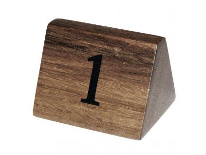 64630 olympia tabulky s cisly stolu z akatoveho dreva cisla 1 10
