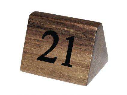 64660 drevene tabulky s cisly stolu cisla 21 30