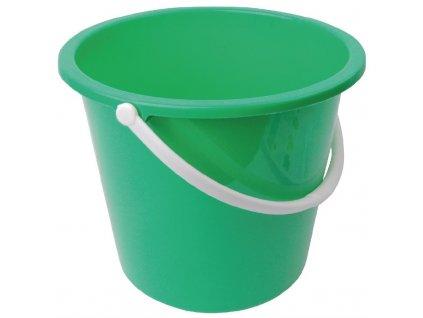 65923 jantex kulaty plastovy kbelik zeleny 10l