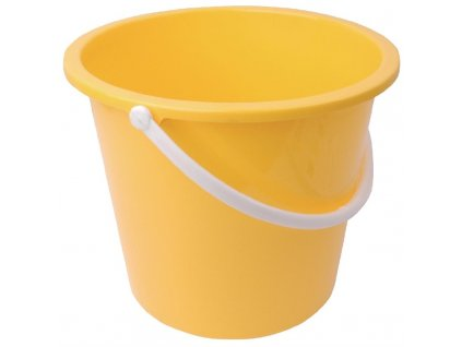 65926 jantex kulaty plastovy kbelik zluty 10l