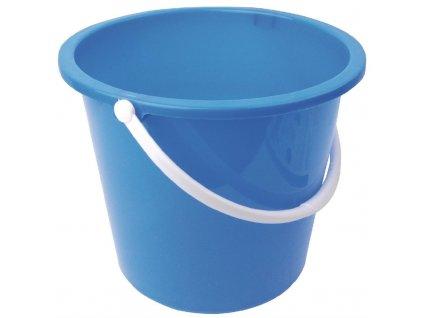 65929 jantex kulaty plastovy kbelik modry 10l
