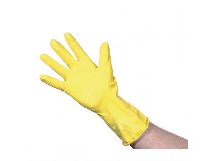 65950 jantex rukavice do domacnosti zlute velikost m