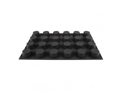 66808 silikonova neprilnava forma pavoflex 24 muffinu