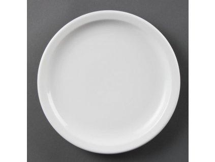 67324 olympia talire whiteware s uzkym okrajem 230mm