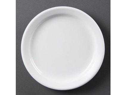 67330 olympia talire whiteware s uzkym okrajem 180mm