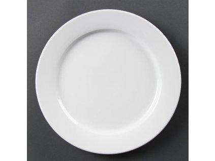 67345 olympia talire whiteware se sirokym okrajem 280mm