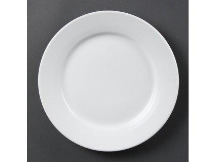 67348 olympia talire whiteware se sirokym okrajem 250mm