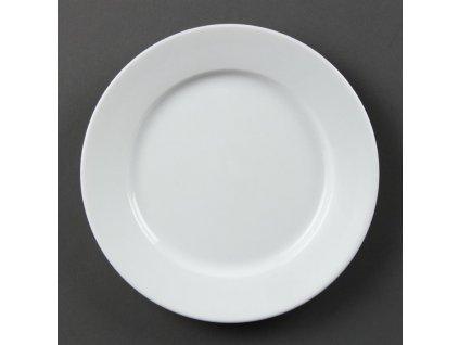 67354 olympia talire whiteware se sirokym okrajem 202mm