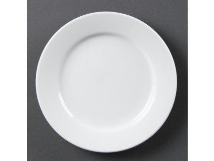 67357 olympia talire whiteware se sirokym okrajem 165mm