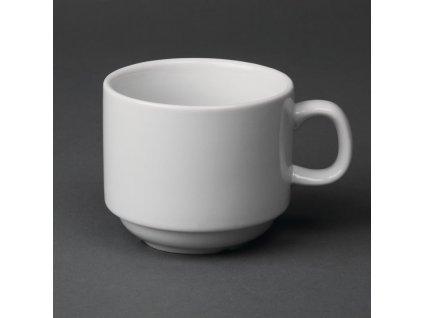 67390 olympia stohovatelne salky na caj whiteware 200ml