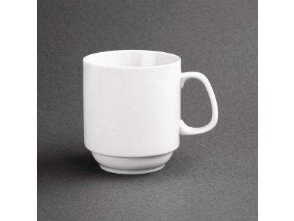 67408 olympia stohovatelne hrnky whiteware 284ml