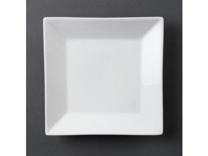 68083 olympia ctvercove talire whiteware se sirokym okrajem 250mm
