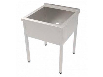 Nerezové vany / dřezy, šířka 70 cm, délky 60 - 120 cm