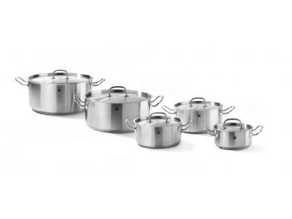 95181 kastrol s poklici kitchen line 7 4 l 280x h 120 mm