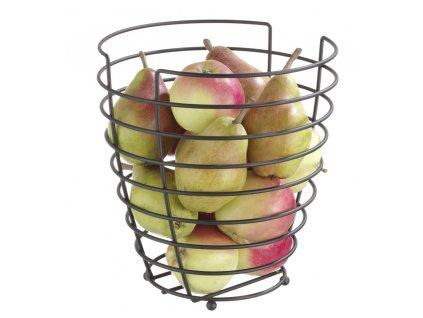97179 kosik na ovoce cerny 230x h 250 mm