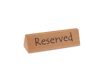 97338 cedule na stul reserved reserved 152x44x h 44 mm
