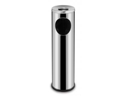 99105 stojici odpadkovy kos s popelnikem 15 l 200x h 700 mm