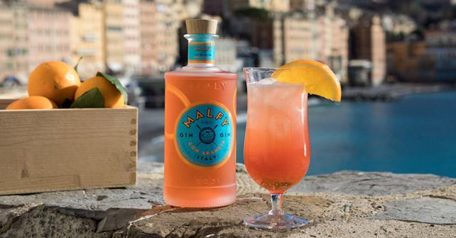 Nový pomerančový gin Malfy