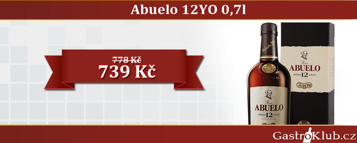 RON ABUELO ANEJO 12 ANOS 0,7 L