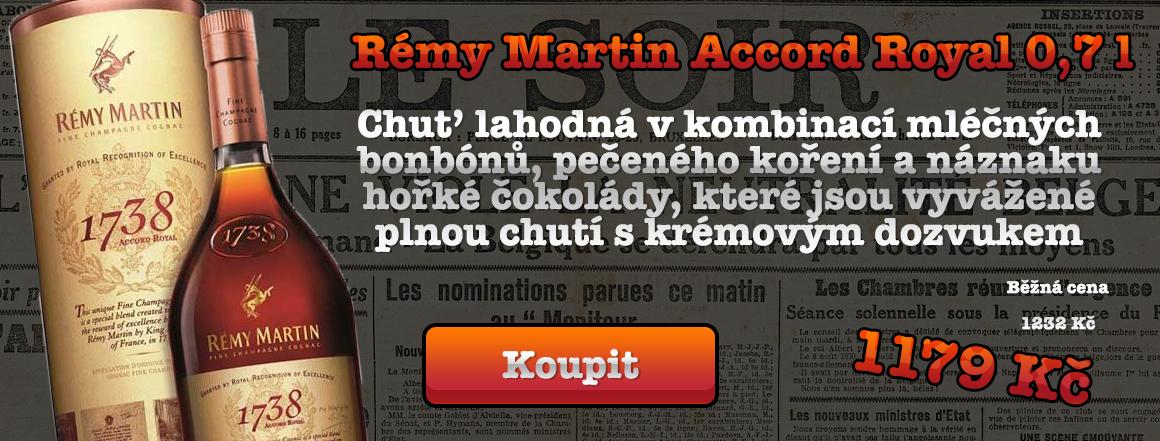 Rémy Martin Accord Royal 0,7 l
