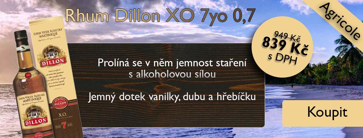 Rhum Dillon XO 7yo 0,7 l