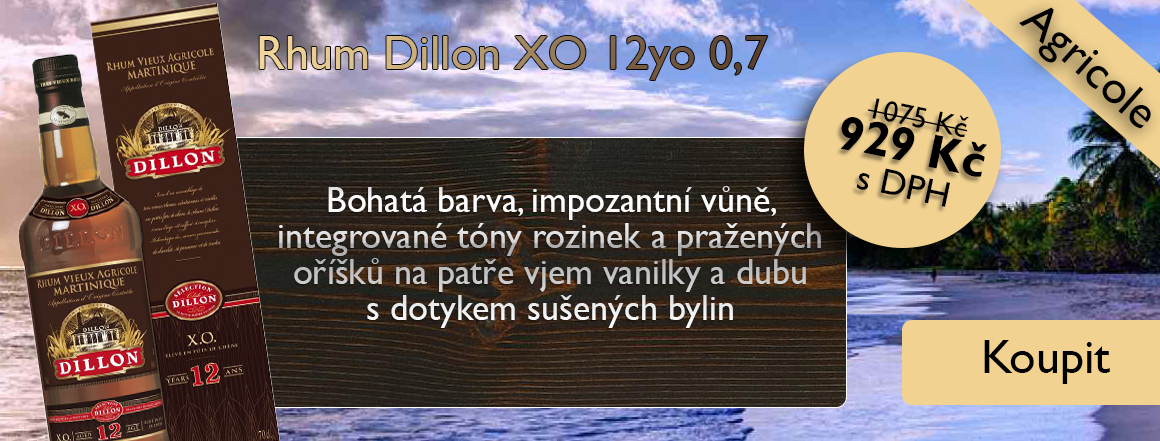Rhum Dillon 12 X.O. 0,7 l