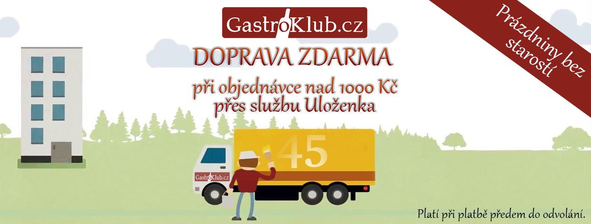 Doprava přes prázdniny pomocí Uloženka.cz ZDARMA - u objednávek nad 1000 Kč