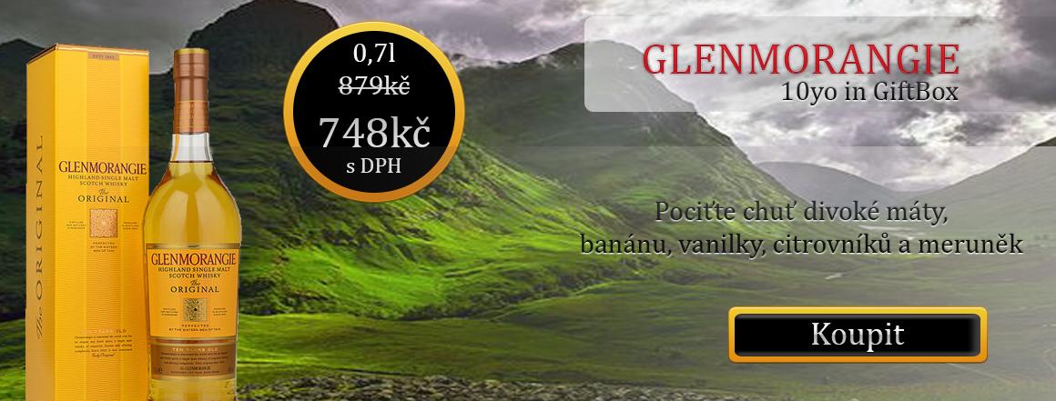 GLENMORANGIE ORIGINAL 10 LETÁ IN GIFTBOX 0,7 L