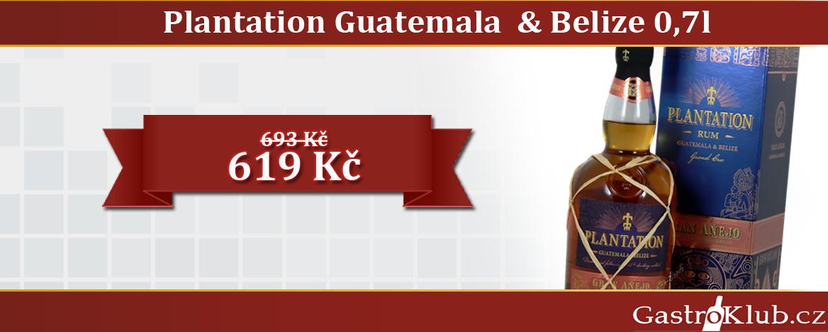 PLANTATION GUATEMALA A BELIZE 0,7 L 42%