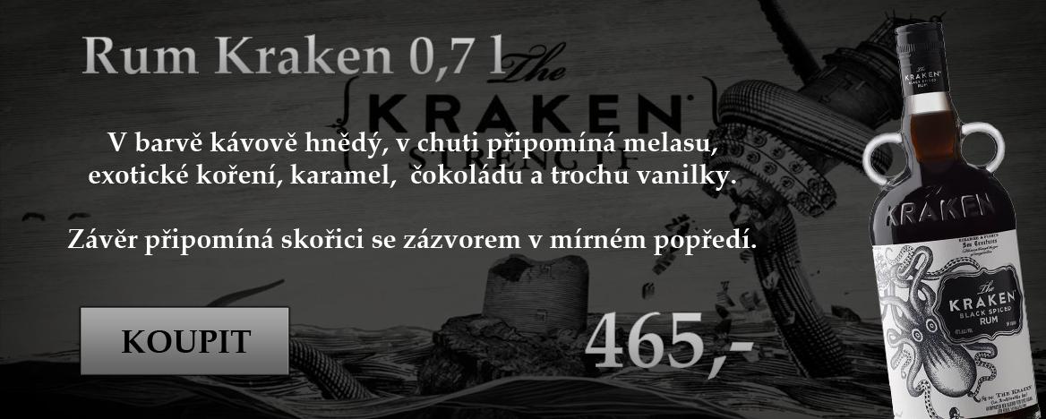 Kraken rum 0,7l