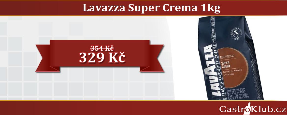 KÁVA LAVAZZA SUPER CREMA 1KG ZRNO