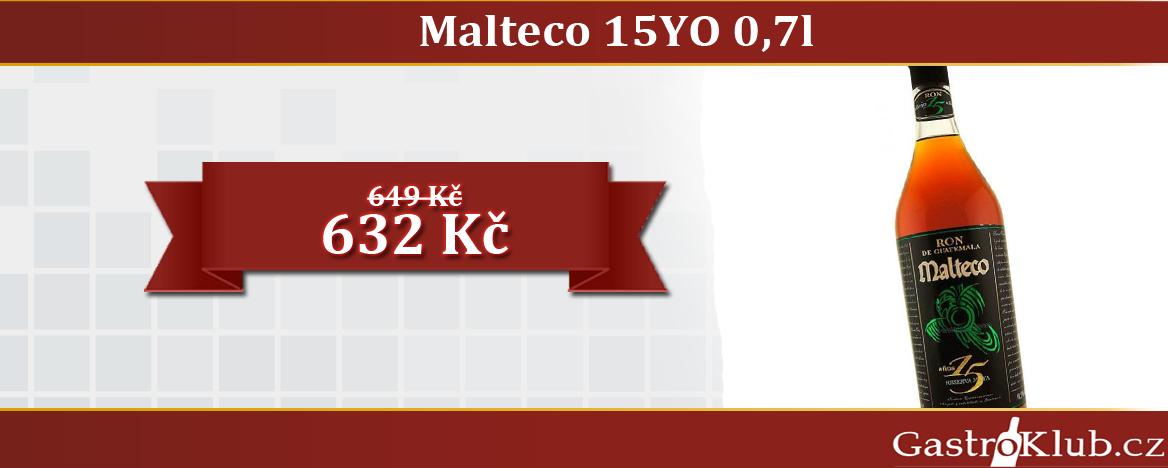 RUM MALTECO 15 YO 0,7 L