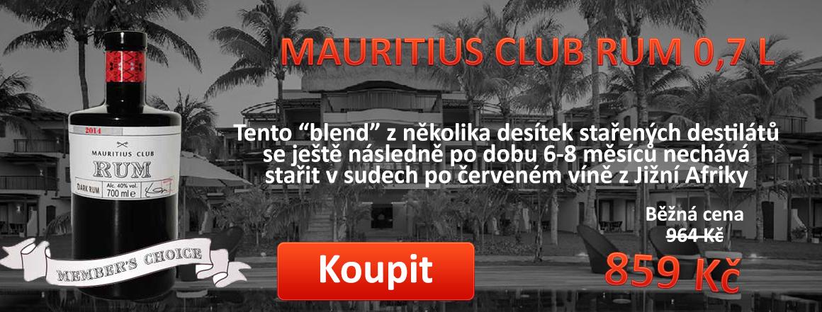 6. Mauritius club rum 0,7 l